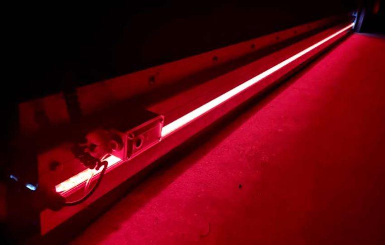 Boss Rubber Doors LED illuminated bottom bar